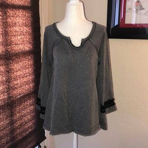 Free People Sweatshirt like Tunic